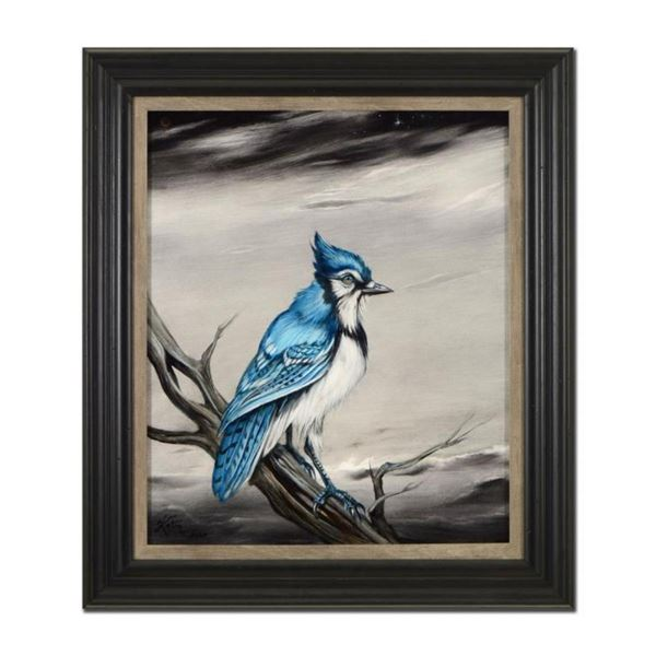 Eli Grey Bluejay by Katon Original