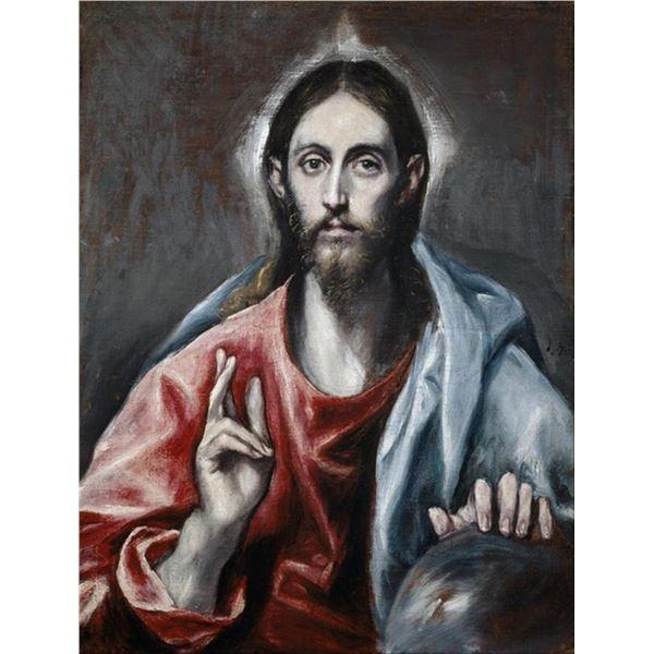 El Greco - The Saviour of the World