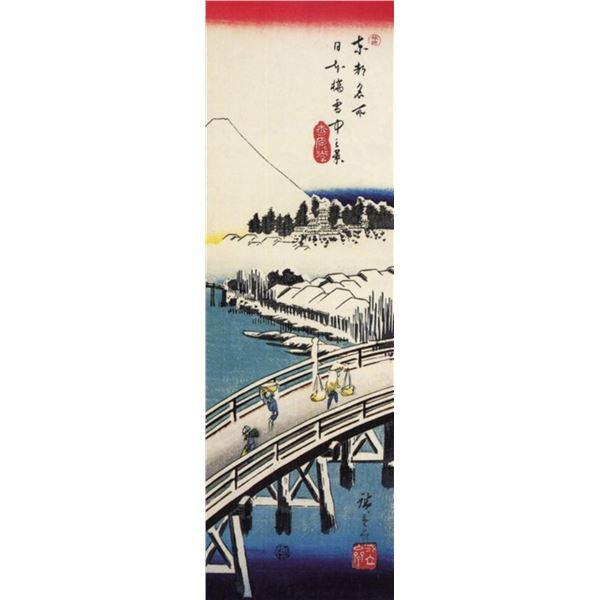 Hiroshige A Bridge in the Snow