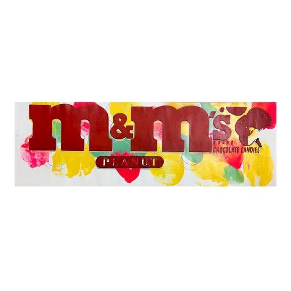 M&Ms Peanut by Steve Kaufman (1960-2010)