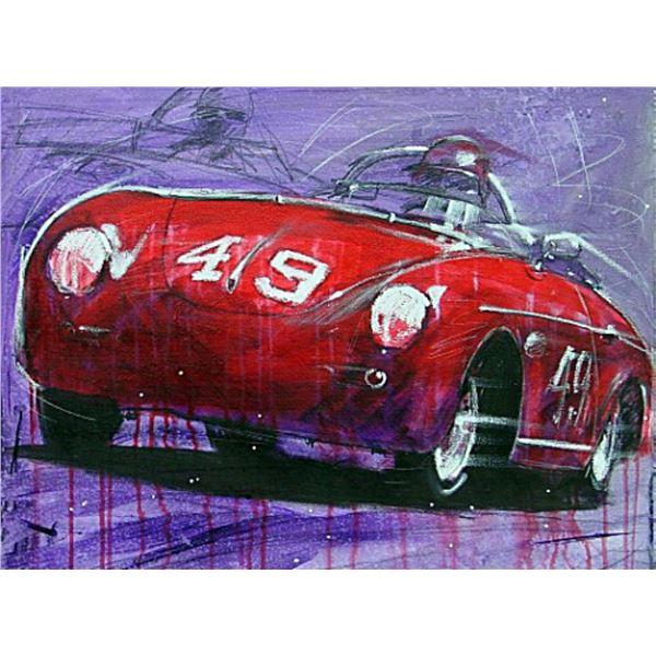 Red Porsche by Michael Bryan