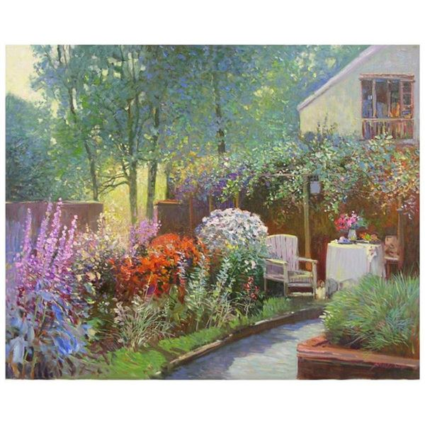 Afternoon in the Garden by Feng Original