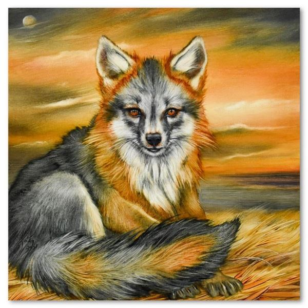 Grey Fox Puppy by Katon Original