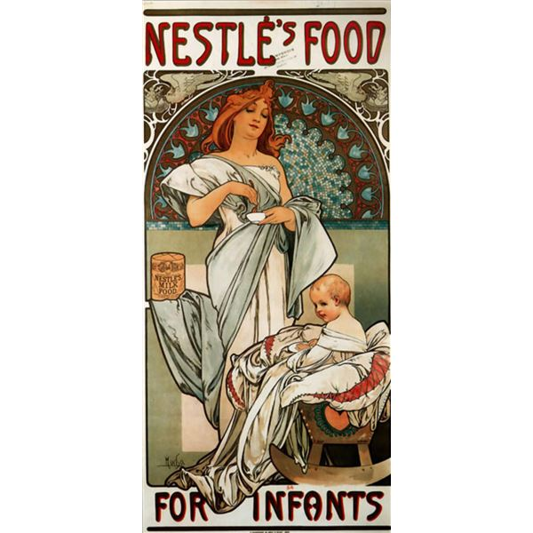 Alphonse Mucha - Nestle's Food for Infants
