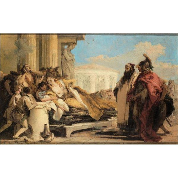 Tiepolo - Death of Dido