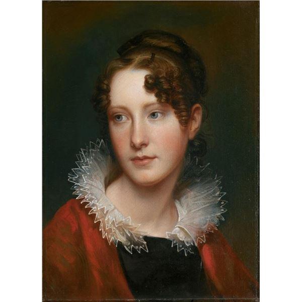 Rembrandt Peale - Portrait of Rosalba Peale