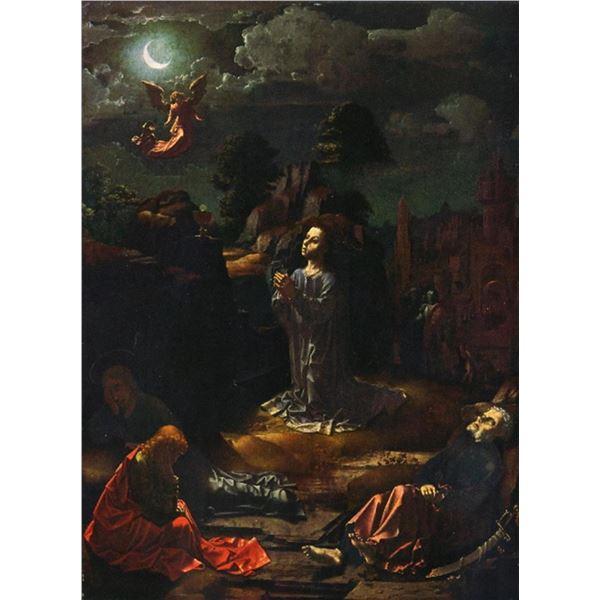Jan Gossaert  - Christ at the Mount of Olives