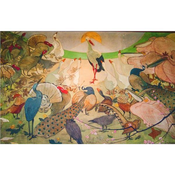 T. Van Houten - Birds