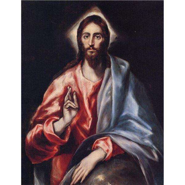 El Greco - Christ the Saviour