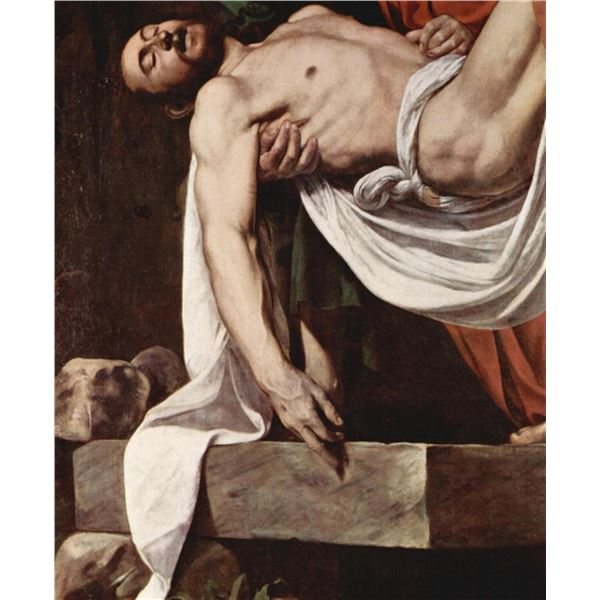 Caravaggio - Putting Christ in the Tomb