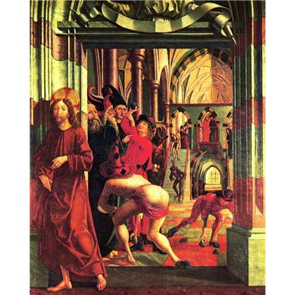 Michael Pacher - Stoning of Christ