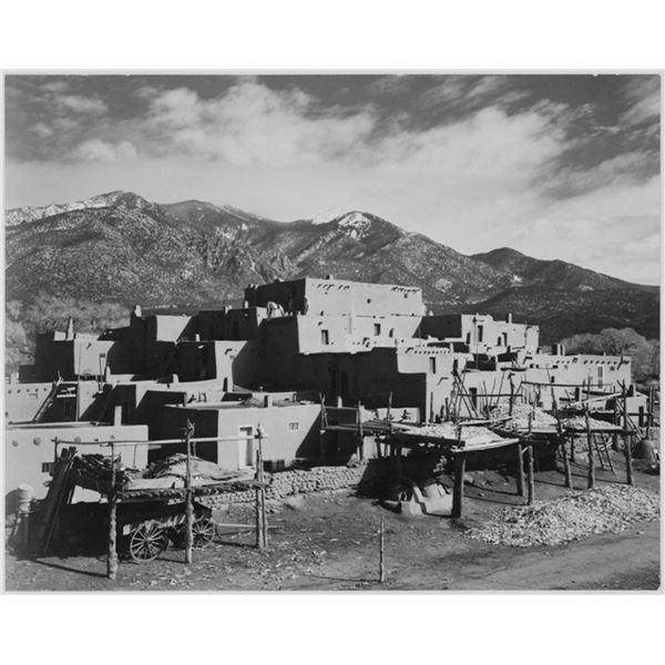 Adams - Taos Pueblo New Mexico