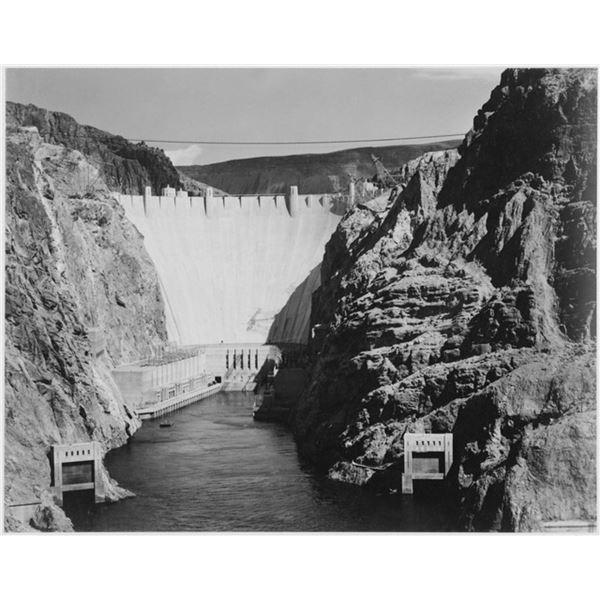 Adams - Boulder Dam from Across the Colorado River 2