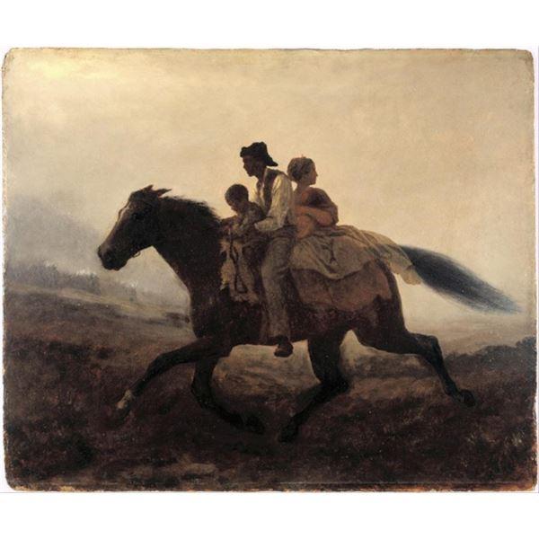 Eastman Johnson - A Ride for Liberty - The Fugitive Slaves