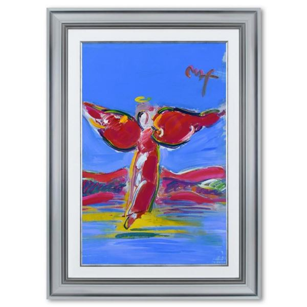 Ascending Angel by Peter Max