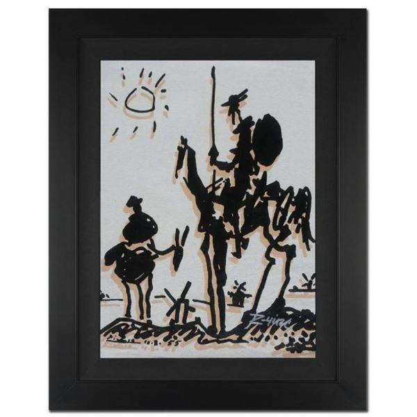 """Don Quixote (Dali Homage) by """"Ringo"""" Daniel Funes"""