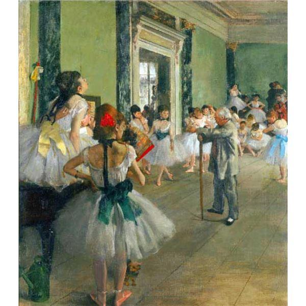 Edgar Degas - Ballet Class