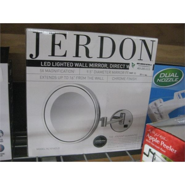 JERDON LED LIGHTED WALL MIRROR