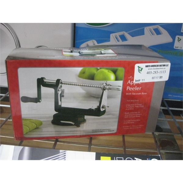 MY PERFECT KITCHEN APPLE PEELER WITH VACUUM BASE