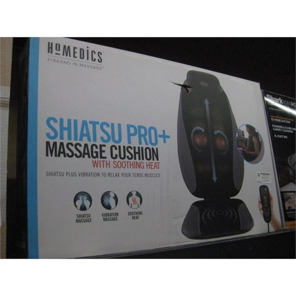 HOMEDICS SHIATSU PRO PLUS MASSAGE CUSHION WITH HEAT