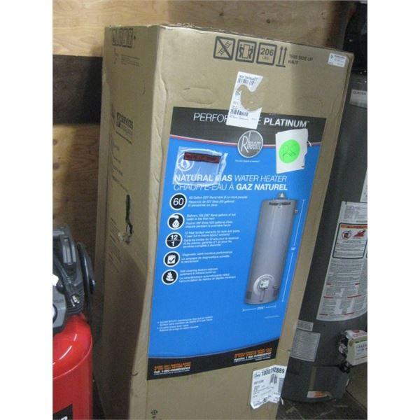 RHEEM 1000792889 227 LITRES HOT WATER TANK GAS
