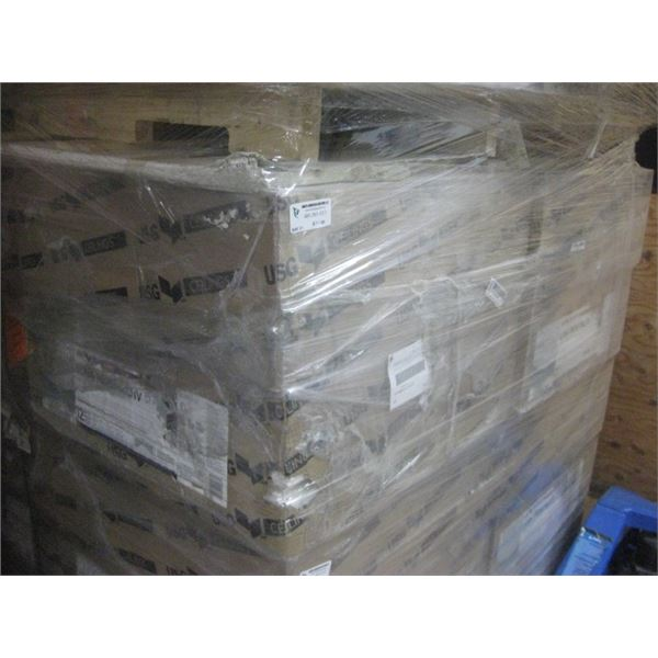 8PC 24X24 USG LUNA PEDESTALS IV R72716 12PC PER CEILING TILES SLIGHTLY DENTED