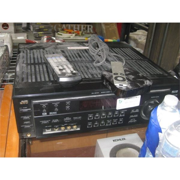 JVC RX-8010V AUDIO VIDEO CONTROL RECEIVER REMOTES USED