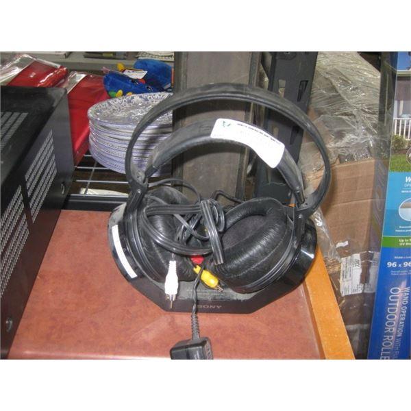 SONY TMR-RF970R WIRELESS HEADPHONE HOME AUDIO USED