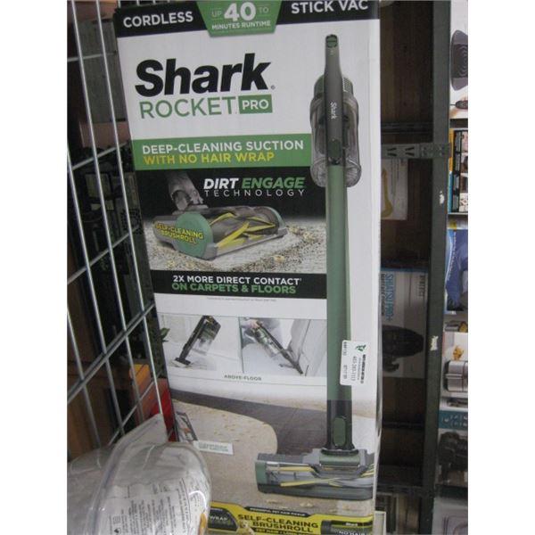 SHARK ROCKET PRO STICK VAC CORDLESS