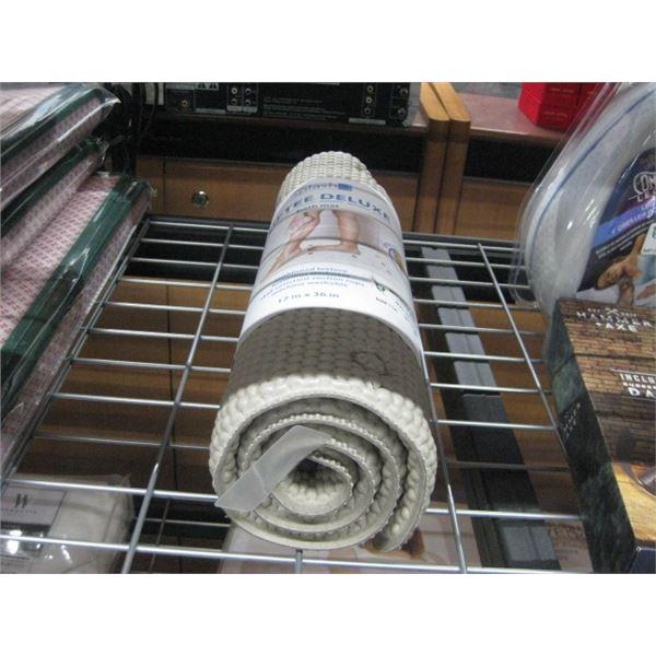 SPLASH SOFTEE DELUXE BATH MAT 17 X 36 INCH