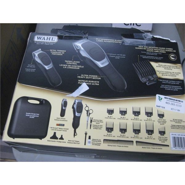 WAHL DELUXE SHAVER KIT