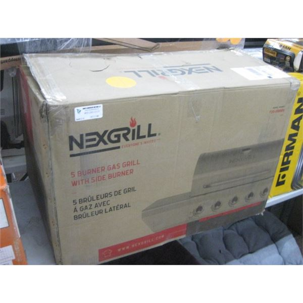 NEXGRILL 5 BURNER GAS GRILL 720-0888S PROPANE