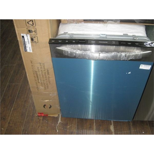 FRIGIDAIRE USED STAINLESS STEEL FRONT DISHWASHER