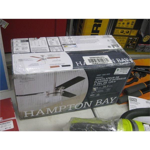 HAMPTON BAY 1001485855 42 INCH LED CEILING FAN