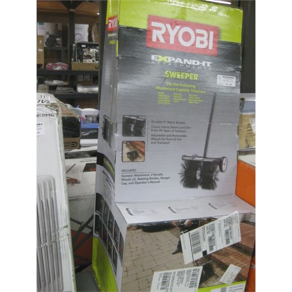 RYOBI 1001200622 EXPAND IT SWEEPER ATTACHMENT