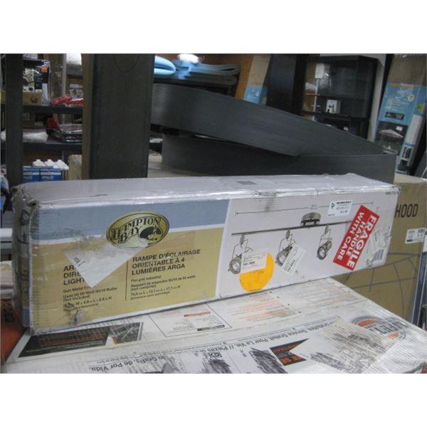 HAMPTON BAY 100776188 ARGA 4 LIGHT DIRECTIONAL LIGHT BAR