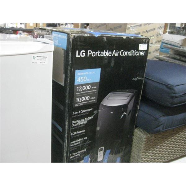 LG PORTABLE AC UNTI 450 SQ FT ROOM LP1021GSB
