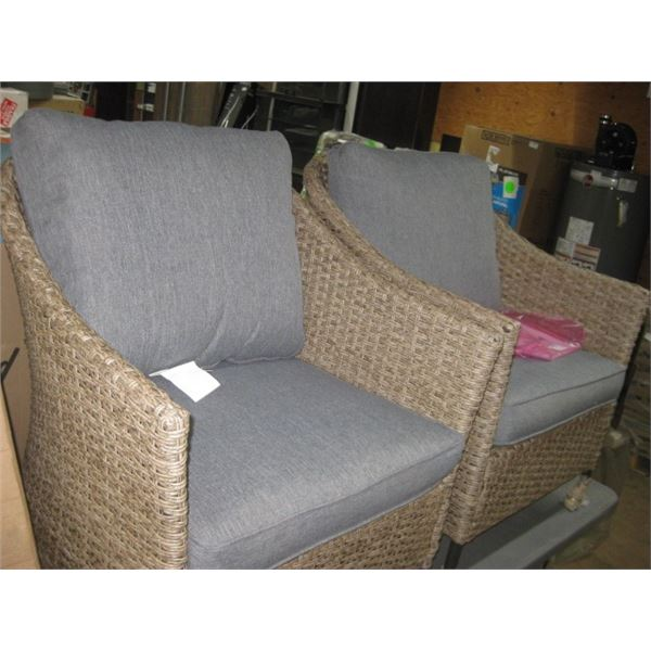 STYLEWELL PAIR OF SIDE BRISTO CHAIRS