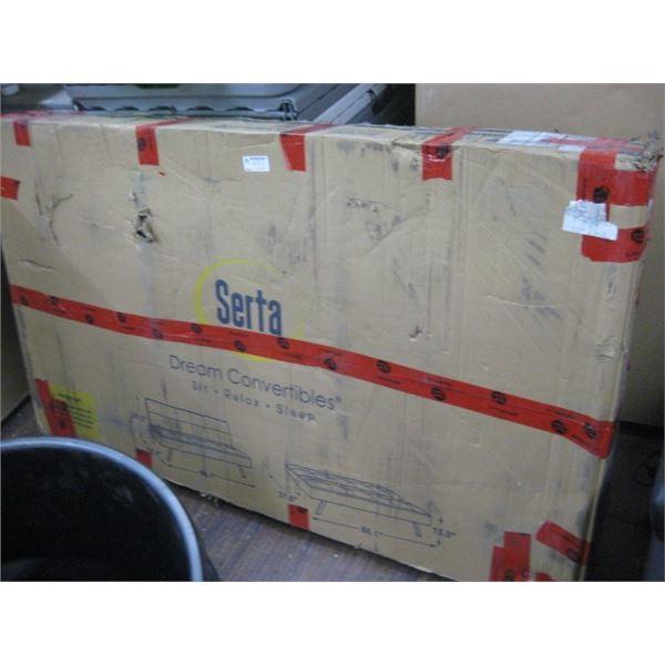 SERTA DREAM CONVERTIBLES SIT RELAX SLEEP SOFA SC-CRYS3LU2012