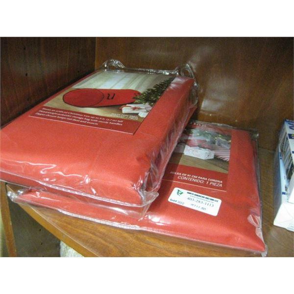 WINTER WONDERLAND 112 ORNAMENT ORGANIZER AND TREE BAG