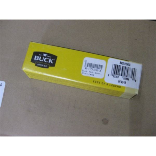 BUCK NOBBLEMAN NEW POCKET KNIFE IN BOX