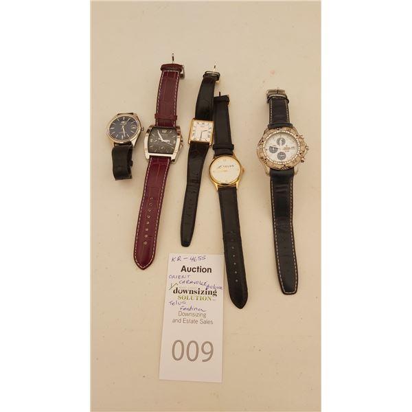 Seiko, Orient, Festina, Bulova Watches