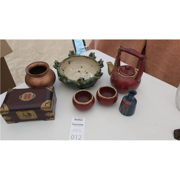 Asian Pottery & More Cat A