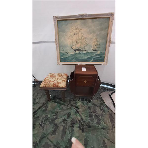 Antique Magazine Cupboard and more Cat C
