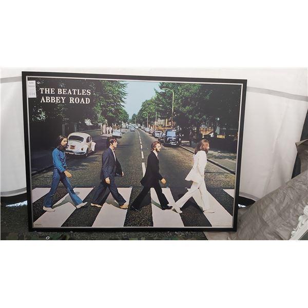 Large Poster of Beatles Cat B