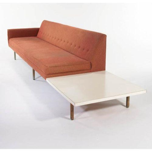 Groovy George Nelson Sofa With Attached End Table Pabps2019 Chair Design Images Pabps2019Com