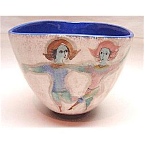 Polia Pillin Three Sided Vase dancing Women #2274157