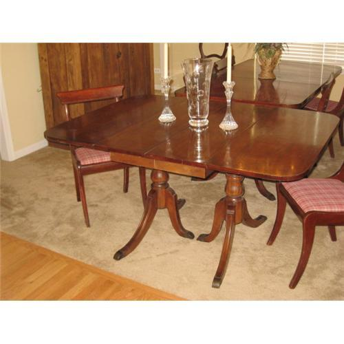 Duncan Phyfe Drop Leaf Dining Table 2293867