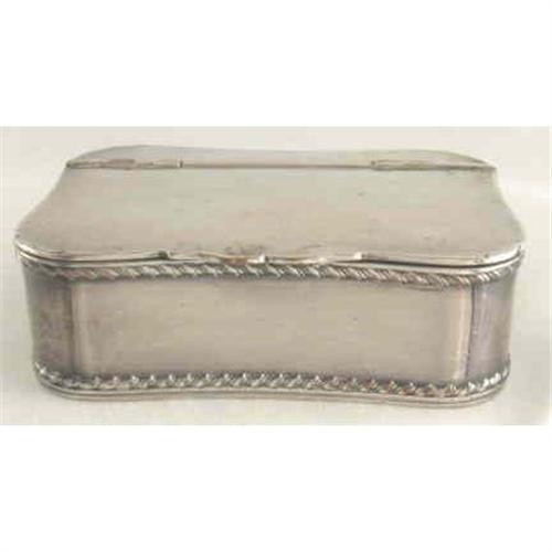 Snuff Box Barker Ellis c1912 Silver Plate #2295886