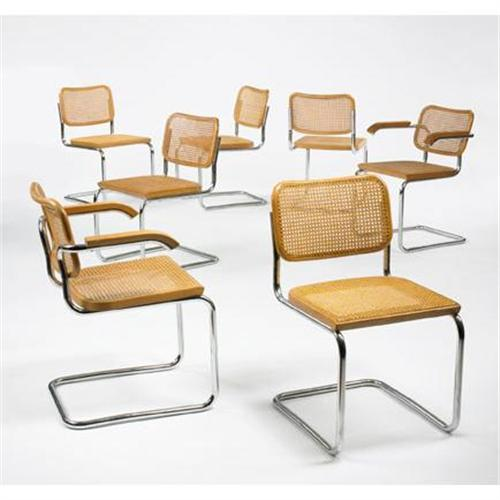 Magnificent Marcel Breuer Dining Chairs Models B32 And B6 Pdpeps Interior Chair Design Pdpepsorg